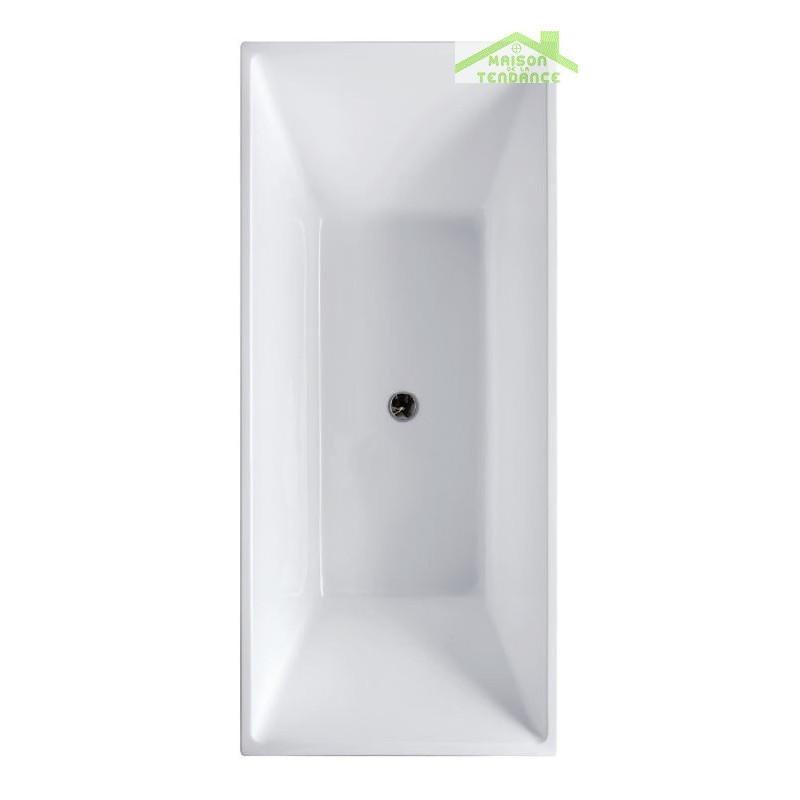 Baignoire Acrylique Lot Iris K 1505 150x70x60 Cm Avec Robinetterie