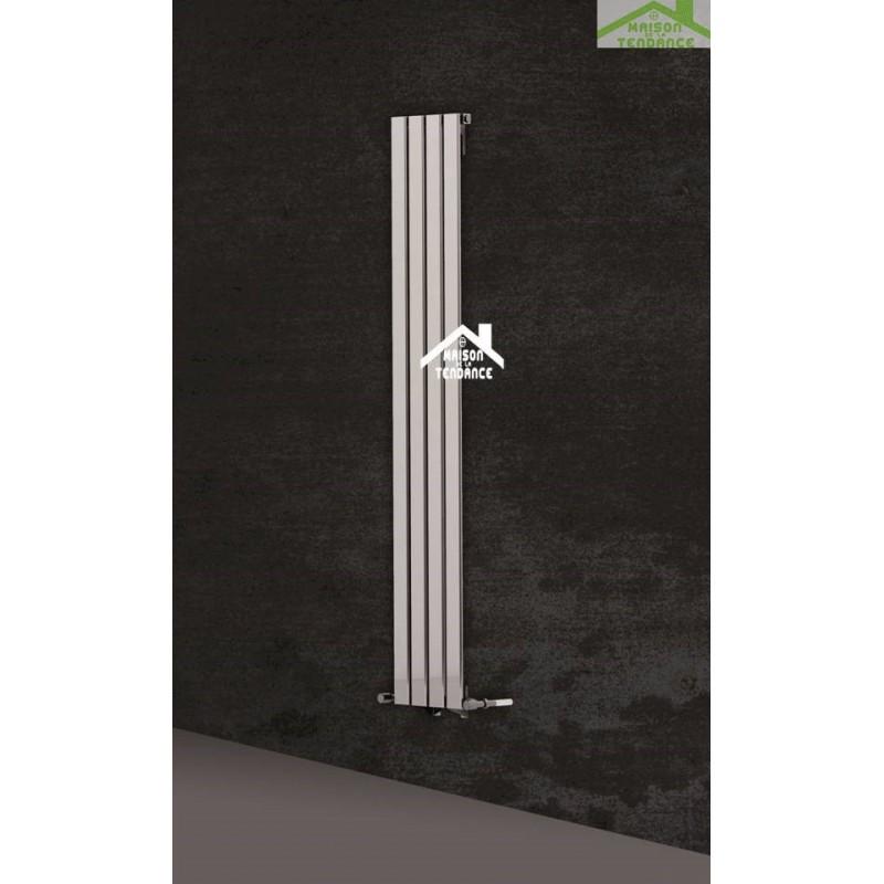 radiateur design vertical marcelo 31x180 cm en acier. Black Bedroom Furniture Sets. Home Design Ideas