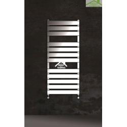 Radiateur sèche-serviette design vertical MARCELLA 51x120 cm en chrome
