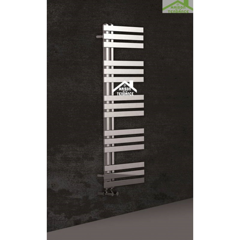 Radiateur s che serviette design vertical verona 50x120 cm for Radiateur seche serviette design
