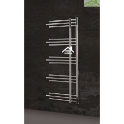 Radiateur sèche-serviette design vertical NERISSA 50x120 cm en chrome