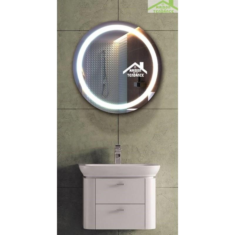 Armoire designe armoire de salle de bain avec miroir et for Armoire salle de bain avec miroir