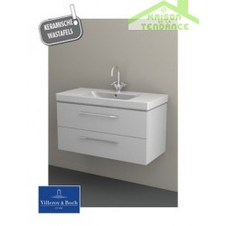 Ensemble meuble & lavabo RIHO ALTARE SET 32   en bois stratifié 100x47 x H56,5 cm
