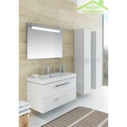 Ensemble meuble & lavabo RIHO ALTARE SET 33   en bois stratifié  130x47 x H56,5 cm