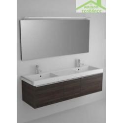 Ensemble meuble & lavabo RIHO ANDORA SET 20 en bois stratifié 160x48 x H 48 cm