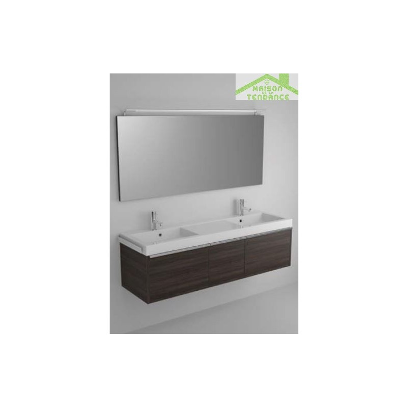 Ensemble meuble lavabo riho andora set 20 160x48 x h 48 for Ensemble meuble lavabo