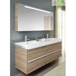 Ensemble meuble & lavabo RIHO ANDORA SET 30 en bois stratifié 120x63 x H 48 cm