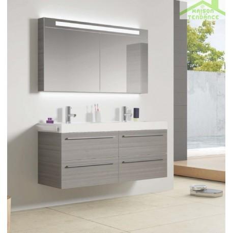 ensemble meuble lavabo riho bologna set 63 120x48x h 58 5 cm maison de la tendance. Black Bedroom Furniture Sets. Home Design Ideas