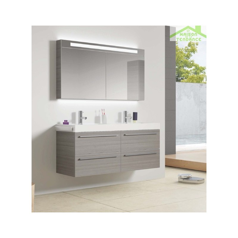 Ensemble meuble lavabo riho bologna set 63 120x48x h 58 5 cm - Ensemble lavabo meuble ...
