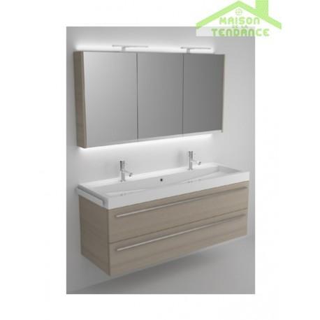 ensemble meuble lavabo riho bologna set 64 140x48x h 58 5 cm maison de la tendance. Black Bedroom Furniture Sets. Home Design Ideas