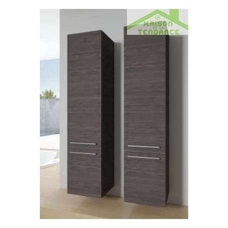 armoire de douche 2 portes gauche riho bologna 40x40 h 171 5 cm maison de la tendance. Black Bedroom Furniture Sets. Home Design Ideas