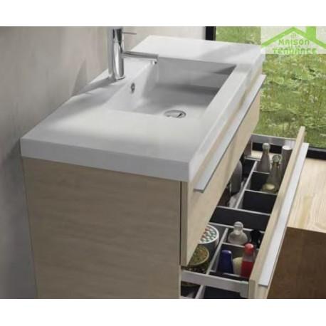 ensemble meuble lavabo riho bellizzi set 11 100x45x h 60 cm maison de la tendance. Black Bedroom Furniture Sets. Home Design Ideas