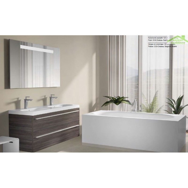 Ensemble meuble lavabo riho belluno set 25 120x45x h 60 cm - Ensemble lavabo meuble ...