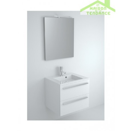 Ensemble meuble lavabo riho broni set 01 60x48x h 52 5 for Ensemble meuble lavabo