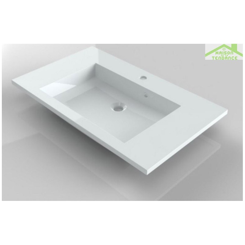 Ensemble meuble lavabo riho broni set 05 80x48x h 52 5 for Ensemble meuble lavabo