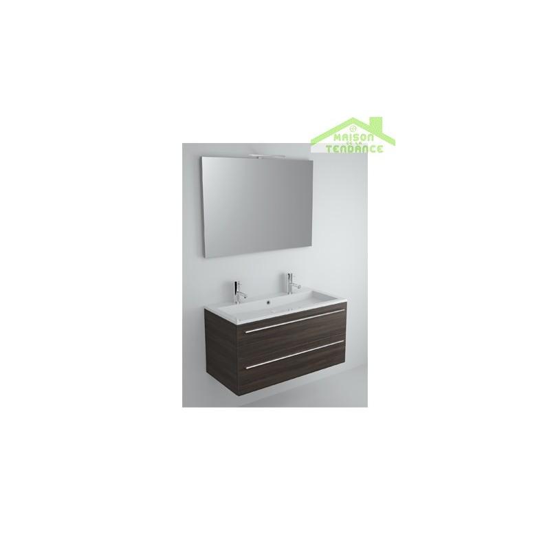 ensemble meuble lavabo riho broni set 10 100x48x h 52 5 cm maison de la tendance. Black Bedroom Furniture Sets. Home Design Ideas