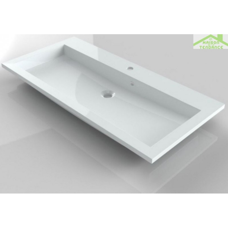 Ensemble meuble lavabo riho broni set 10 100x48x h 52 5 cm - Ensemble lavabo meuble ...