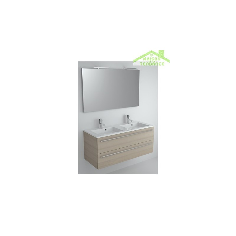 Ensemble grand meuble lavabo riho broni set 15 120x48x h 52 5 cm - Ensemble lavabo meuble ...