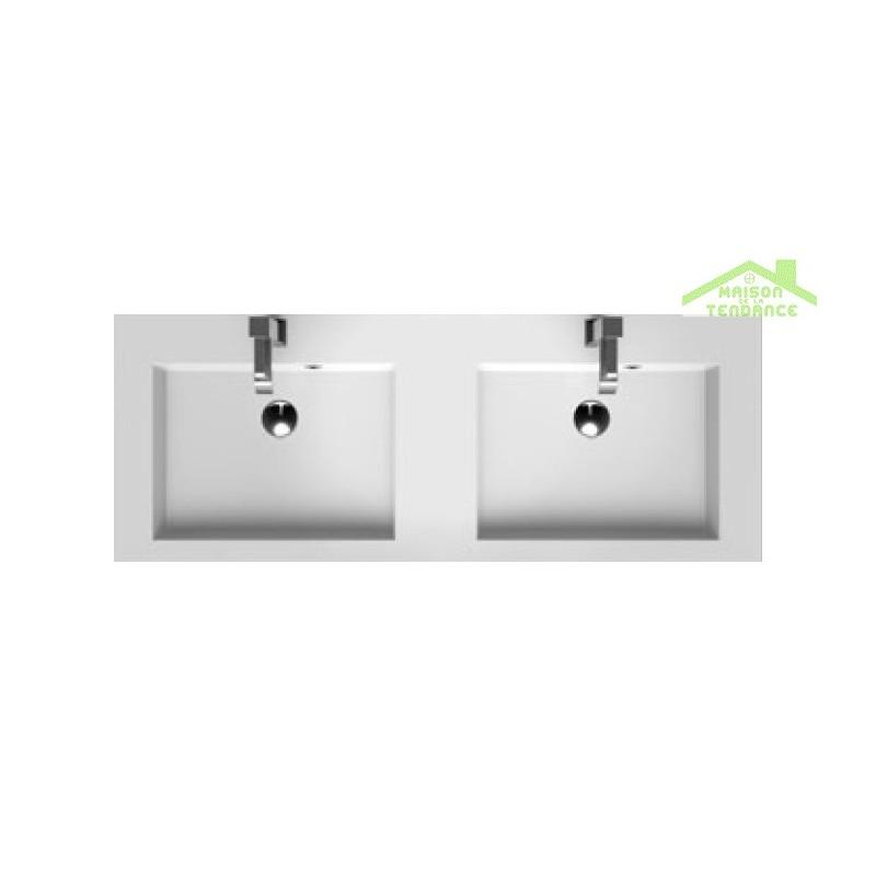 ensemble grand meuble lavabo riho broni set 20 140x48x h 52 5 cm maison de la tendance. Black Bedroom Furniture Sets. Home Design Ideas