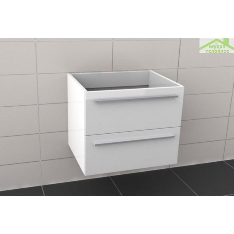 Sous meuble de lavabo riho broni 60x48x h 50 5 cm for Meuble lavabo 50 cm