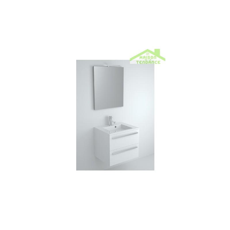 sous meuble de lavabo riho broni 60x48x h 50 5 cm maison de la tendance. Black Bedroom Furniture Sets. Home Design Ideas