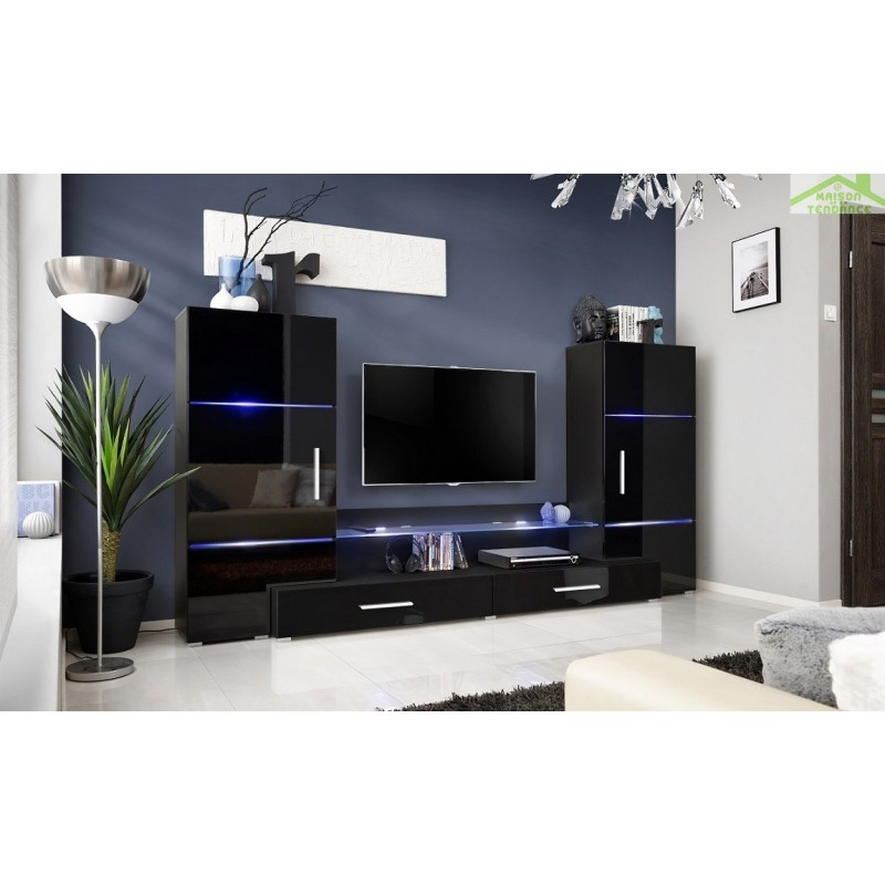 ensemble meuble tv avec plateau mural sammlung von design zeichnungen als. Black Bedroom Furniture Sets. Home Design Ideas