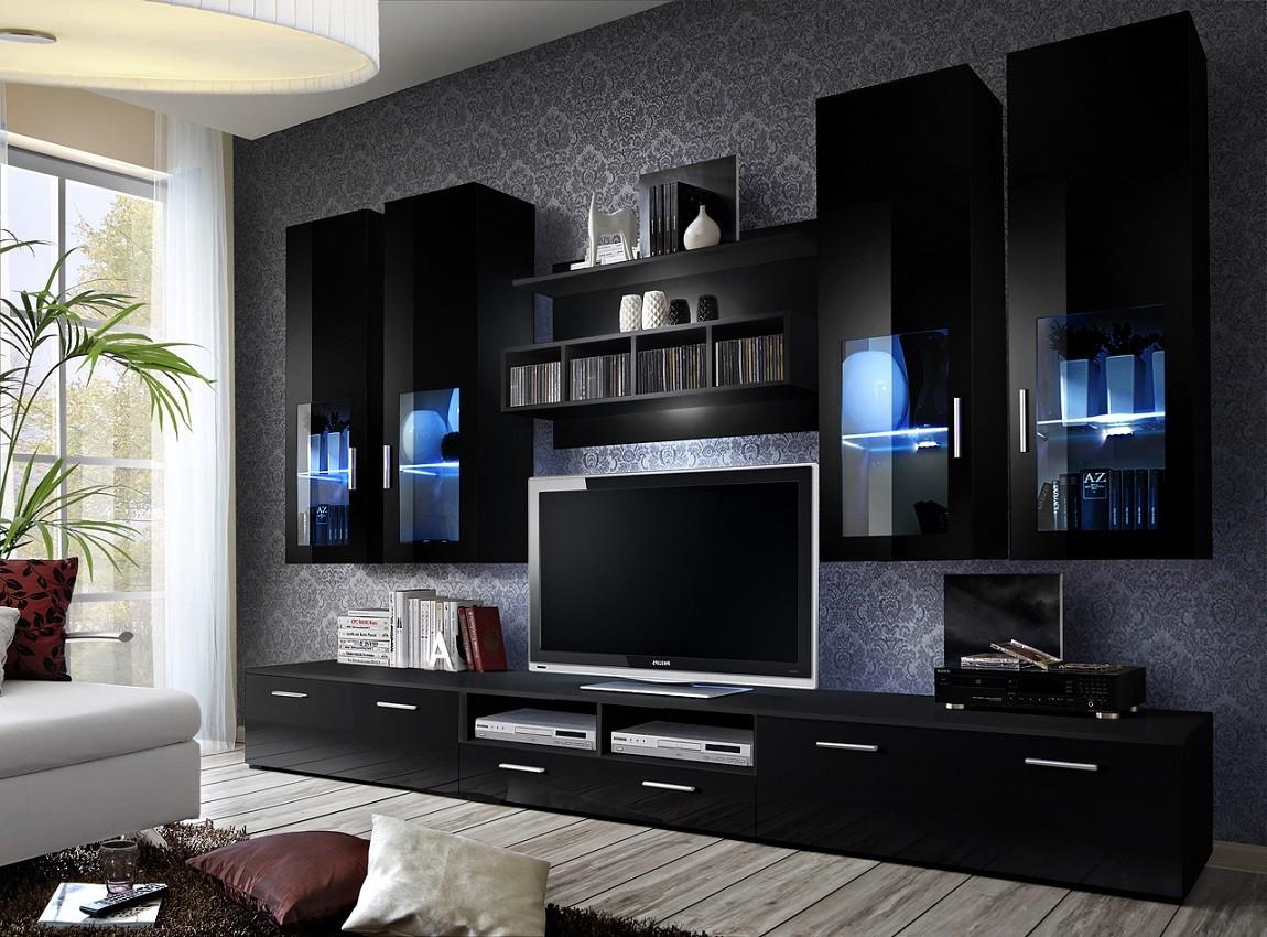 Meuble Tv Maison De La Tendance # Meuble Tele Lumiere