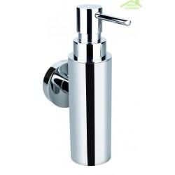 Distributeur de savon liquide  OMEGA en chrome 5,5x17,5x8,5cm / 150ml