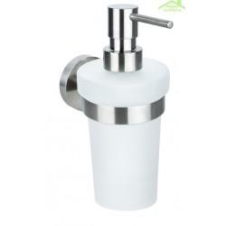 Distributeur de savon liquide NEO en acier inoxydable 150ml / 17,5x8,5x5,5cm