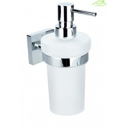 Distributeur de savon liquide BETA en verre 7,5cm x 18cm x10cm / 250ml