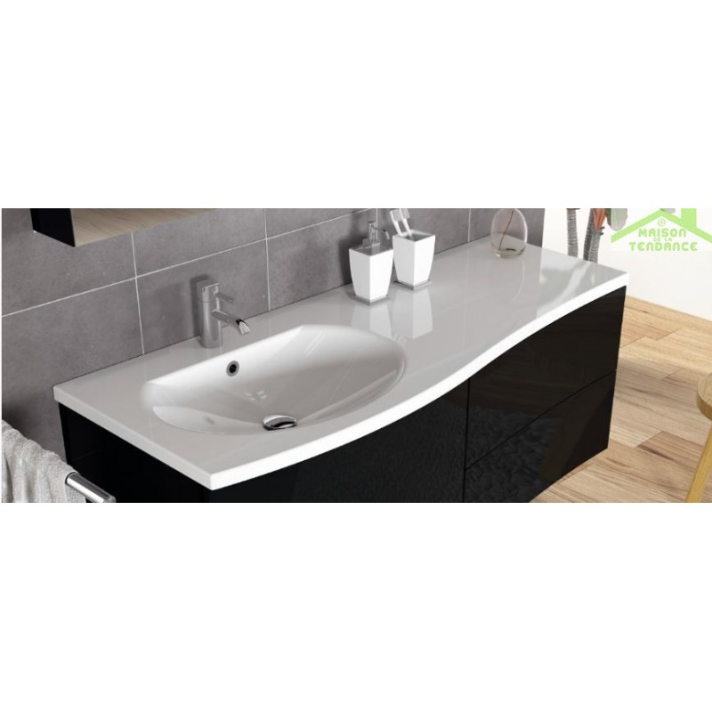 Ensemble meuble lavabo riho celano set 01 130x48 h 48 cm for Ensemble meuble lavabo