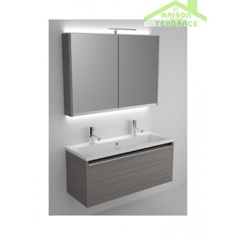 Ensemble meuble lavabo riho eifel set 35 120x38 h 45 cm - Ensemble meuble lavabo ...