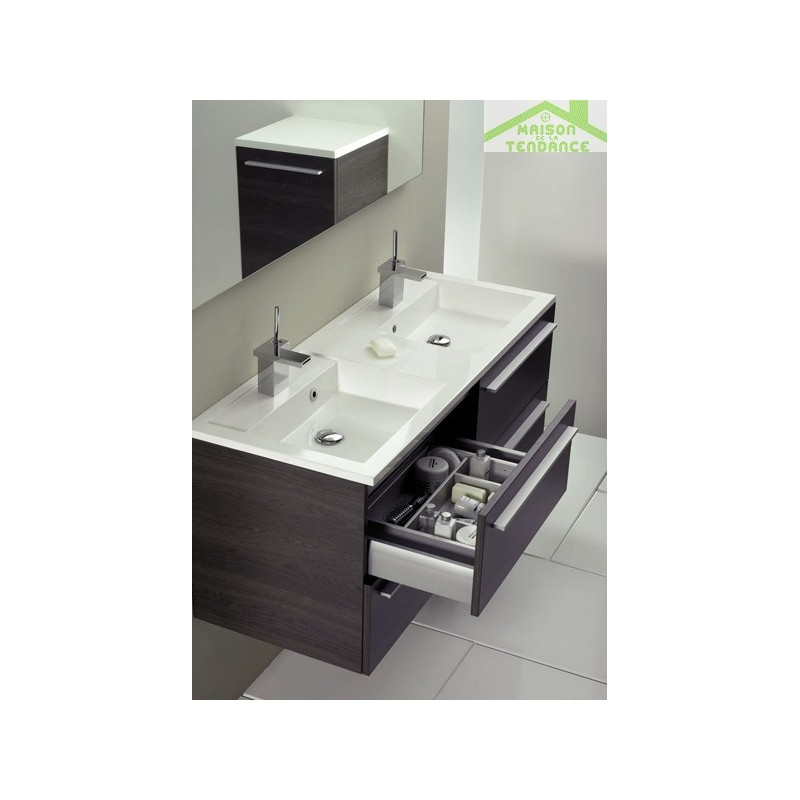 Ensemble meuble lavabo riho broni set 22 160x48x h 52 5 cm - Ensemble lavabo meuble ...