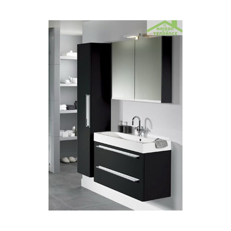 Ensemble meuble lavabo riho slimline set 65 80x38 h 60 5 cm - Ensemble lavabo meuble ...