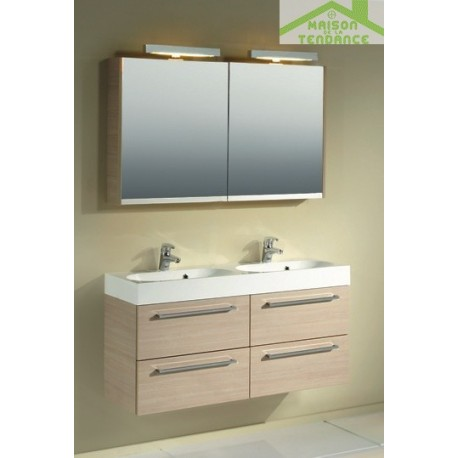 Ensemble meuble lavabo riho slimline set 75 120x38 h 60 - Ensemble lavabo meuble ...