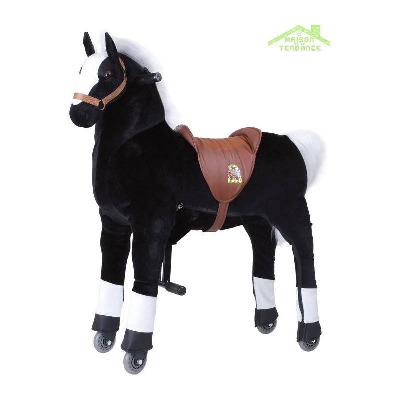 cheval monter avec roulettes tonnerre. Black Bedroom Furniture Sets. Home Design Ideas