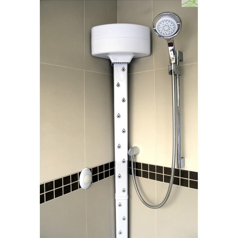 S choir corporel blanc pour douche baignoire galaxy body dryer maison de la - Protection douche pour baignoire ...