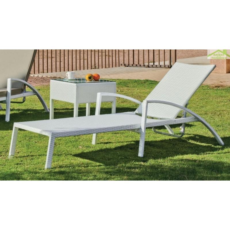 jardin prive lot de 2 coussins fauteuil haut dossier coussin de fauteuil de jardin. Black Bedroom Furniture Sets. Home Design Ideas