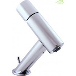 Mitigeur lavabo design SEINA avec siphon en chrome ou en or