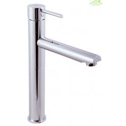 Mitigeur lavabo haut SEINA avec siphon en chrome ou en or