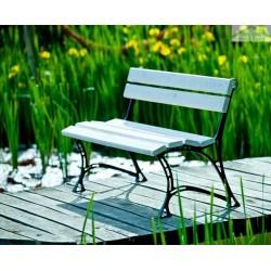 Banc et chaise de jardin maison de la tendance - Banc de jardin blanc ...