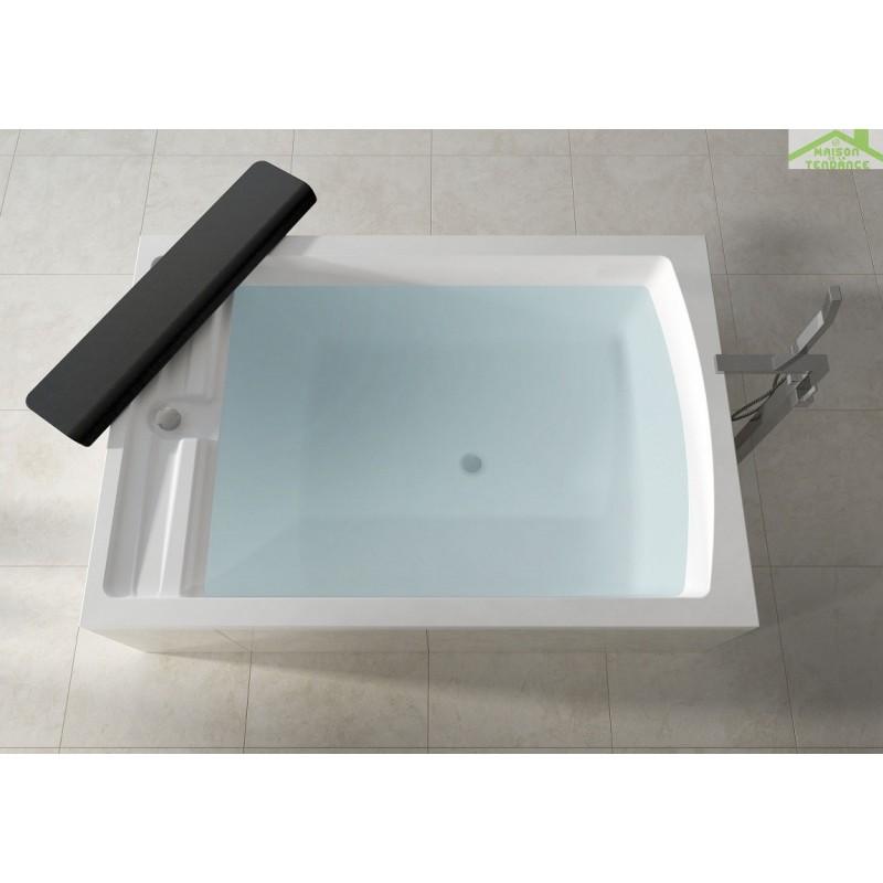 Baignoire riho acrylique kely petit 120x70 cm for Comgrande baignoire plastique