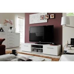 Meuble TV BONO IV 120x37x45 cm  avec LED