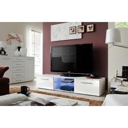 Meuble TV BONO III 180x37x45 cm avec LED
