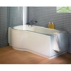 Baignoire d'angle acrylique DORADO RIHO 170x75-90 cm