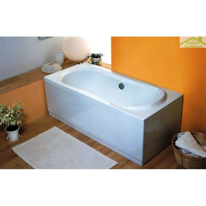 tablier de baignoire lat ral universel en acrylique blanc. Black Bedroom Furniture Sets. Home Design Ideas