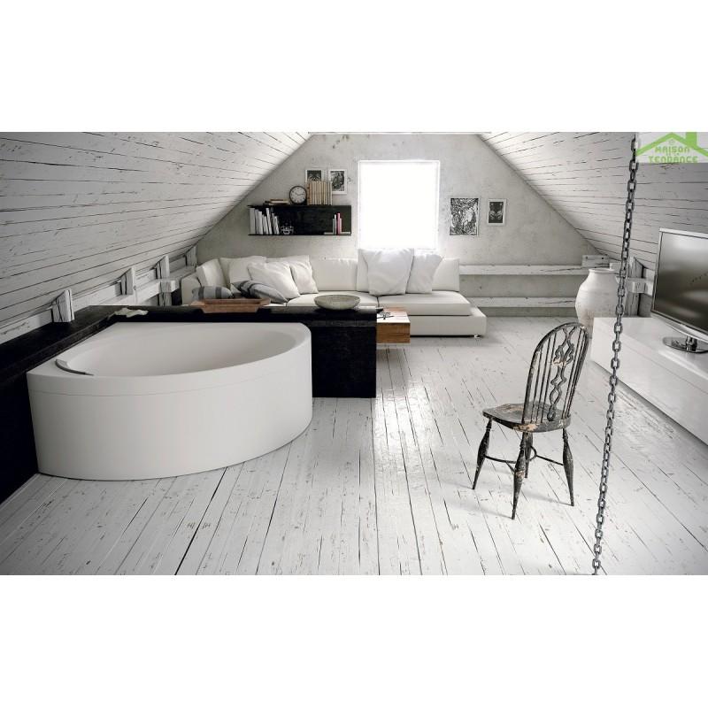 baignoire d angle en acrylique novellini divina c 140x140 cm maison de la tendance. Black Bedroom Furniture Sets. Home Design Ideas