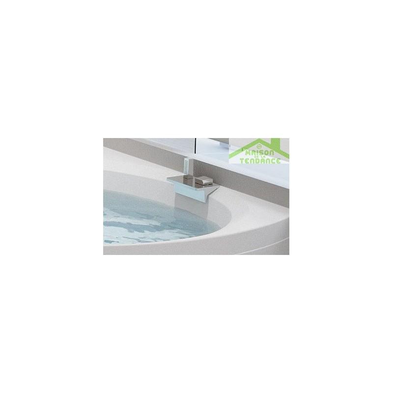 Baignoire d angle en acrylique novellini divina c 140x140 - Baignoire d angle 140x140 ...