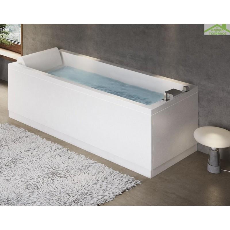 Baignoire acrylique excellent peinture pour baignoire - Kit reparation baignoire acrylique leroy merlin ...