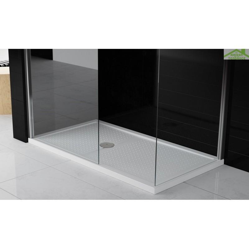 receveur de douche plat novellini olympic plus avec bonde maison de la tendance. Black Bedroom Furniture Sets. Home Design Ideas